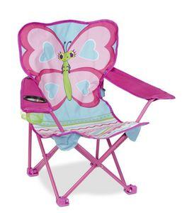 Melissa & Doug - chaise pliante sunny patch papillon - Butaca Para Niño