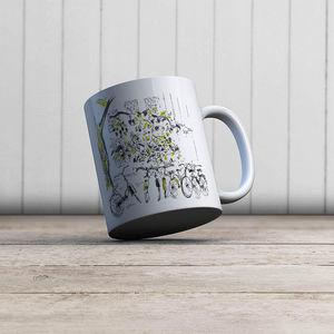 la Magie dans l'Image - mug vélos - Taza