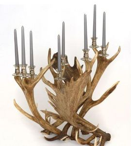 Clock House Furniture - candlestick, 8 arm - Candelabro