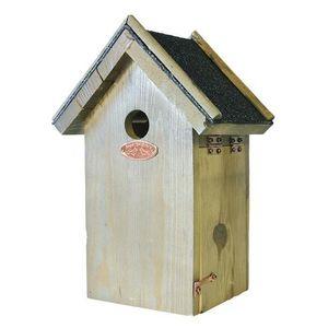 Esschert Design - nichoir tyrol m - mésanges bleues - Casa De Pájaros