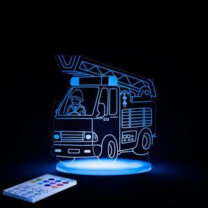 ALOKA SLEEPY LIGHTS - camion pompier - Lámpara Para Dormir Para Niño