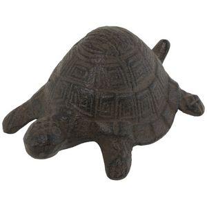 CHEMIN DE CAMPAGNE - statue sculpture tortue cache-clef clé en fonte de - Ornamento De Jardín