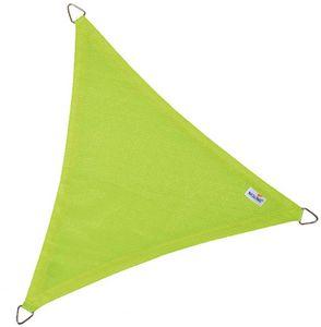 jardindeco - voile d'ombrage triangulaire coolfit vert lime 5  - Toldo Tensado