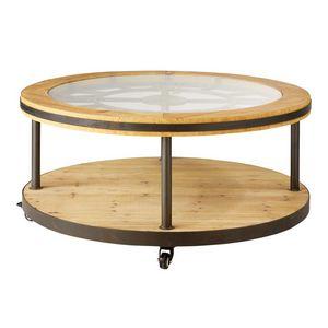 Mesa de centro redonda mesas de centro decofinder - Mesas de centro maison du monde ...