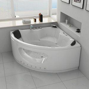DISTRIBAIN - baignoire d'angle 1408355 - Bañera Angular