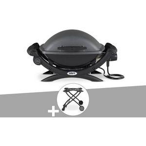 Weber Et Broutin - barbecue électrique 1422588 - Plancha Eléctrica