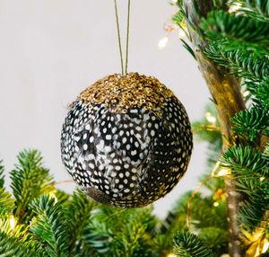 Graham & Green - spot feather - Bola De Navidad