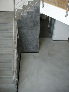 Arts Des Matieres - marches, sol et murs en béton ciré - Cemento Pulido