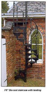 Monarch Stairway -  - Escalera De Exterior