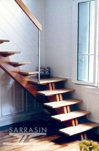 Escalier Sarrasin -  - Escalera Recta