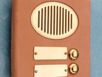 Replicata - klingelplatte terracotta 2 - Botón De Timbre