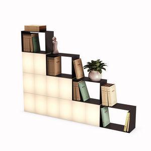 Remake Design - floor color light - Estantería Luminosa