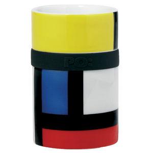 Po Design - ring mug mondri - Taza