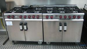 Elliott Group - gas cooking equipment - Fogón