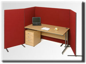 Eco Manufacturing - rb freestanding office screens - Panel Para Oficina