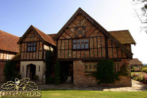 Oakmasters - tudor oak - Entramado