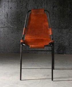 Mathi Design - chaise savane en cuir - Silla