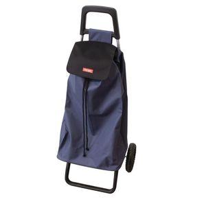 ENTRE TEMPS - chariot shopping rollight bleu foncé - Andador