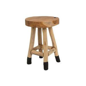 Mathi Design - tabouret bas en bois - Taburete