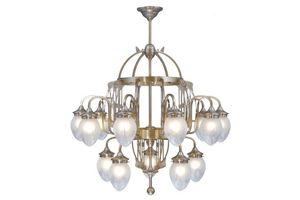 PATINAS - cologne 15 armed chandelier - Araña