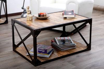 Miliboo - Mesa de centro rectangular-Miliboo-ATELIER TABLE BASSE