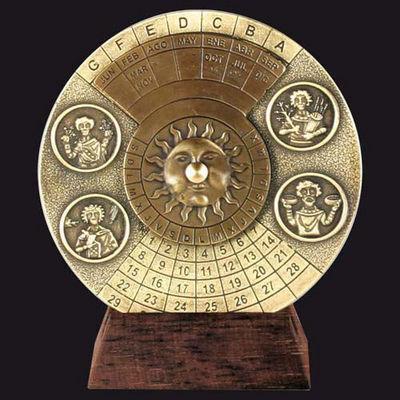 HEMISFERIUM - Calendario-HEMISFERIUM-Calendrier perpétuel