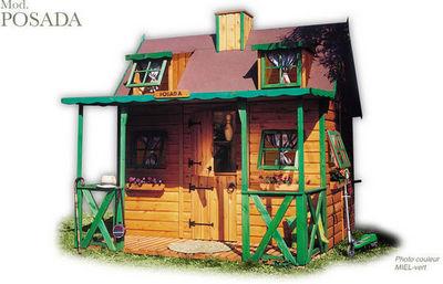 CABANES GREEN HOUSE - Casa de jardín niño-CABANES GREEN HOUSE-POSADA