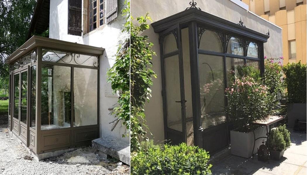 Spoto Veranda Veranda d'ingresso Verande Giardino Tettoie Cancelli...   
