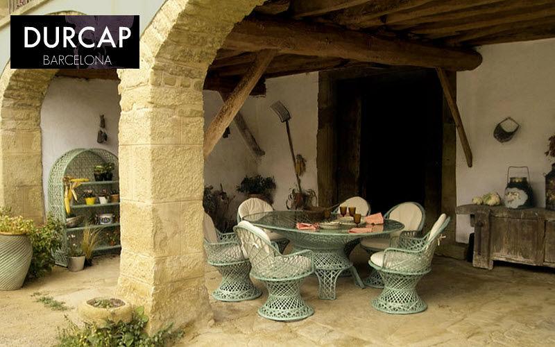 DURCAP Set tavolo e sedie da giardino Tavoli da giardino Giardino Arredo  |