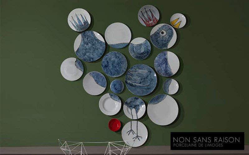 NON SANS RAISON Piatto decorativo Piatti decorativo Oggetti decorativi  |