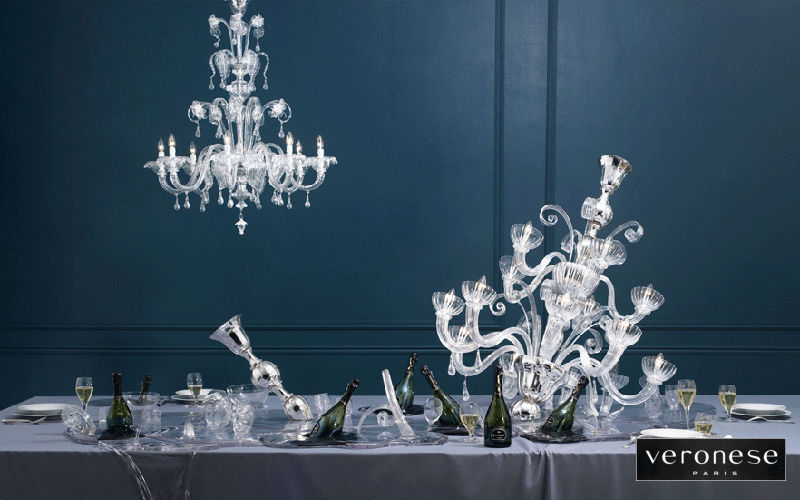 Veronese Lampadario Lampadari e Sospensioni Illuminazione Interno Sala da pranzo | Classico