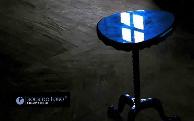 BOCA DO LOBO Tavolino rotondo Tavolo d'appoggio Tavoli e Mobili Vari   