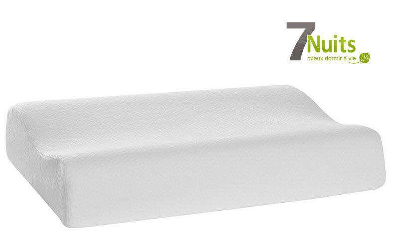7 NUITS Cuscino ergonomico Cuscini Guanciali Federe Biancheria  |