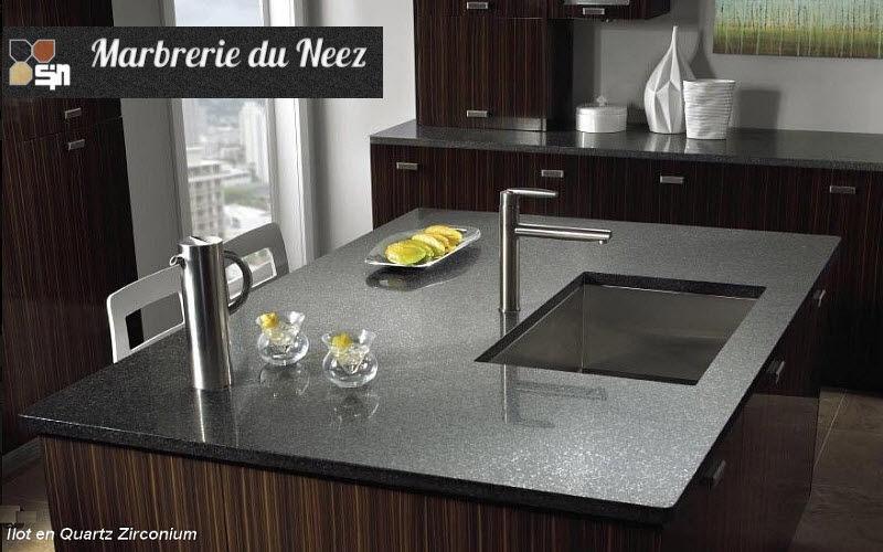 Marbrerie du Neez Piano da lavoro cucina Mobili da cucina Attrezzatura della cucina  |