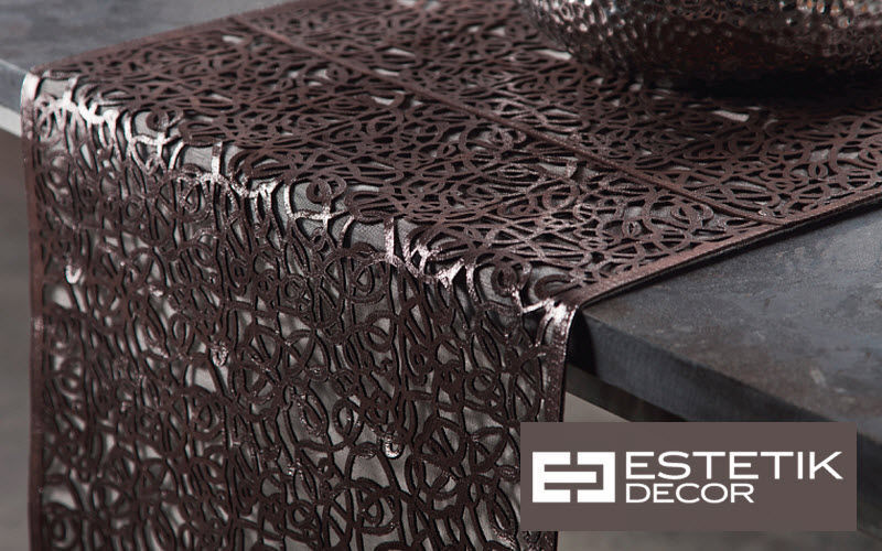 Estetik Decor Striscia da tavolo Tovaglie Biancheria da Tavola  |