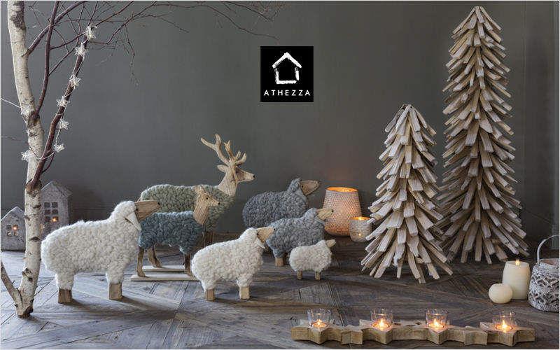 Athezza Albero di Natale artificiale Addobbi natalizi Natale Cerimonie e Feste   