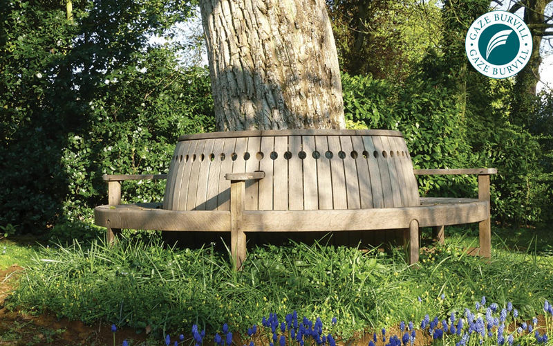 Panchina Rotonda : Panca da giardino circolare panchine per esterni decofinder