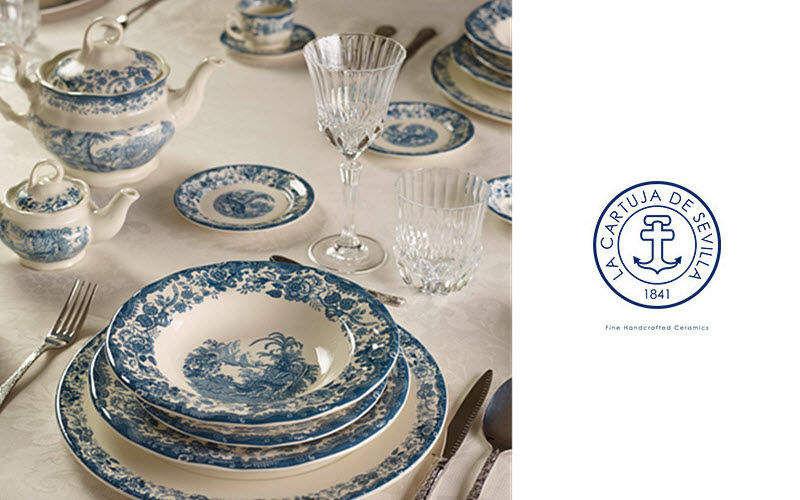 LA CARTUJA DE SEVILLA Servizio da tavola Servizi di piatti Stoviglie Sala da pranzo | Classico