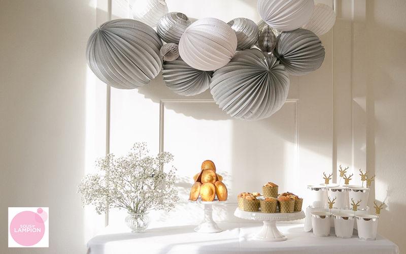 SOUS LE LAMPION Decorazione natalizia Addobbi natalizi Natale Cerimonie e Feste  |