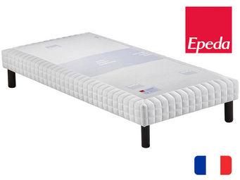 EPEDA - sommier tapissier à lattes epeda confort medium - Rete A Molle Fissa