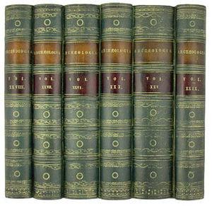 The Manor Bindery Libro finto