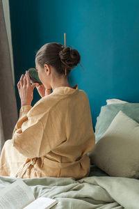 Couleur Chanvre Kimono