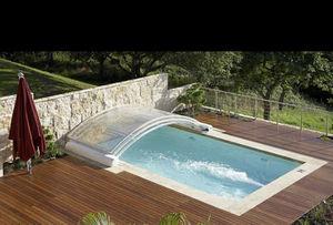 Copertura scorrevole o telescopica per piscina