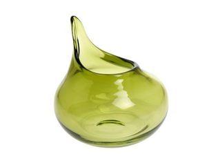 Christian Tortu Bougies - goutte olive - Vaso Da Fiori