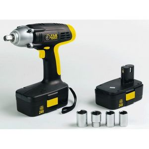 FARTOOLS - clé à choc à batterie 24 volts fartools - Avvitatore A Massa Battente