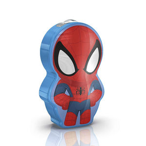 Philips - disney - lampe torche à pile led spiderman h9,2cm  - Luce Notturna Bambino