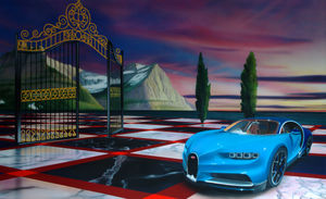AGENCE DEPHASEE - c car - Decorazione Murale