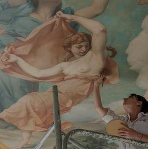 Atelier Mériguet Carrère - hôtel de salm  - Restauro Di Decorazioni Dipinte
