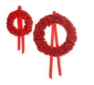 13 RiCrea - roses garlands - Decorazione A Tema
