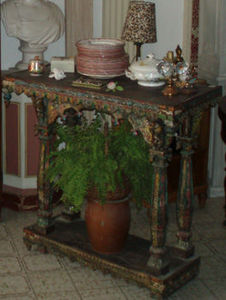 Lola Brocante - console indienne - Consolle
